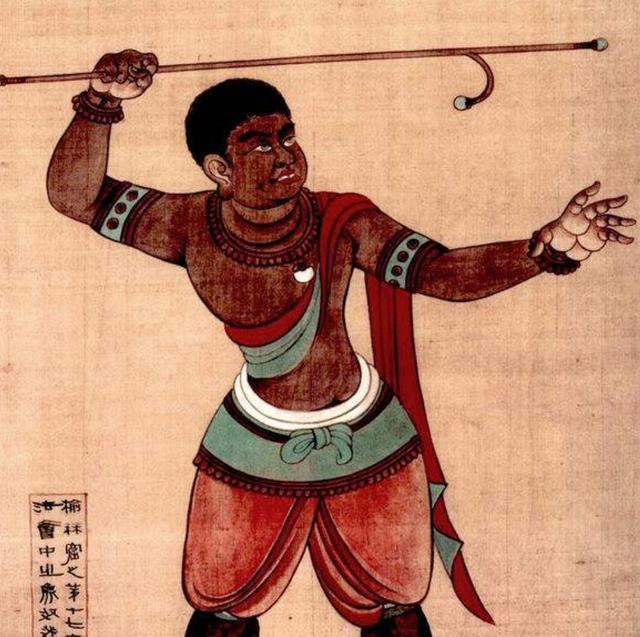 唐朝的昆侖奴真的是是非洲黑人么