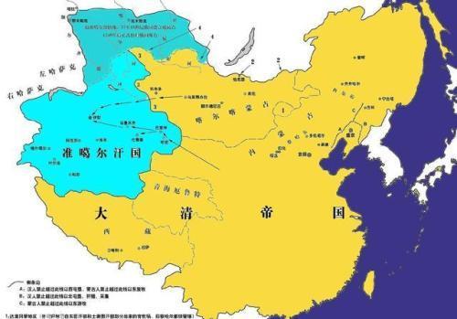 歷史傳奇:準噶爾汗國的建立與滅亡