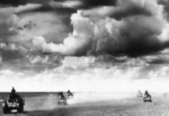 諾門砍戰役中的坦克大戰:蘇軍坦克懶得開炮直接將日軍坦克撞翻